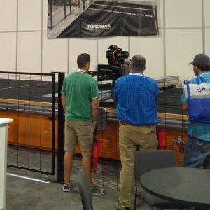 TUROMAS in GlassBuild America 2017